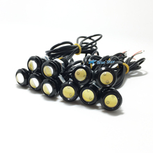 Newest 10pcs LED Eagle Light Eye Car Fog light DRL Daytime Running lights Reverse Backup Signal Parking