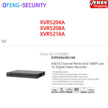 Buy dvr recorder Dahua XVR video recorder XVR5204A XVR5208A XVR5216A 4ch 8ch 16ch Penta-brid 1080P-Lite 1U Digital Video Recorder for $205.00 in AliExpress store
