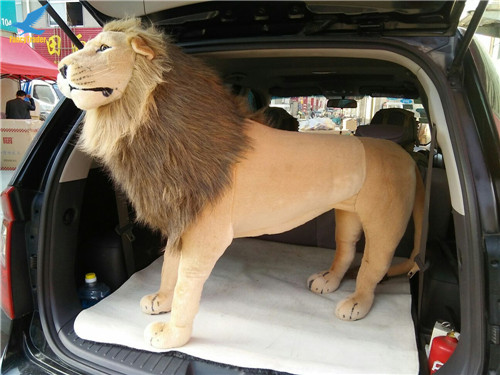 Fancytrader 43\'\' Giant Plush Stuffed Simulation Lifelike Lion King Simba Can be Rided by Kids Great Gift FT90284 (14)