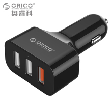 ORICO Quick Charge 2.0 Universal USB Fast Car Charger Adapter 35W For Mobile Phones iPhone Samsung Tablet PC 12V/24V Available(China)