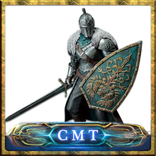 CMT Instock BANPRESTO Original Dark Souls II Sculpt Colletction DXF VOL 1 Faraam Knight One Piece PVC figure(China)