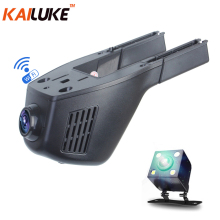 KAILUKE Universal Mini Car DVR Wifi Camera Car DVRS Video Recorder Monitor Dash Cam Black Box Camcorder Full HD 1080P Dual Lens