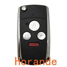 best quality Flip Remote Control Keys for Honda City Fit CRV XRV Accord Jade car key 3+1 button modified  key blank cover