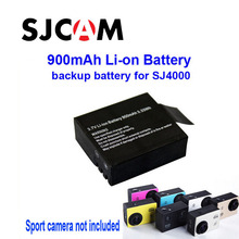 Free Shipping!100% Original  900mAh Backup Rechargable Li-on Battery For SJ4000 ,SJ4000 WiFi, SJ5000,SJ5000 WiFi Sport Camera DV