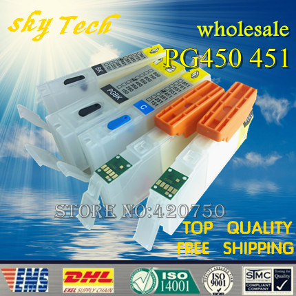10 sets wholesale Empty Refill cartridge Suit for Canon IP7240 MG5440 MX924 MX724 ,  suit for PGI450 CLI451 ,with ARC chips<br><br>Aliexpress