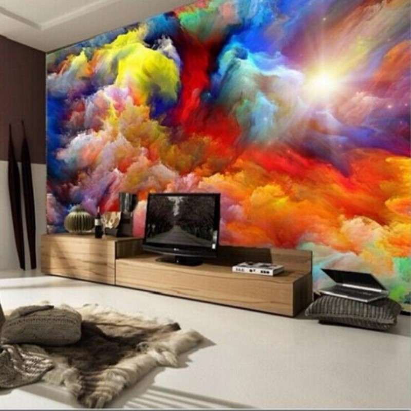 High quality modern luxury 3d custom wallpapers abstract mural cloud photos wallpaper 3d living room bedroom wallpaper for walls<br><br>Aliexpress