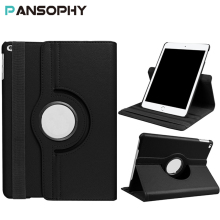 for ipad Air 2 Case, 360 Rotating Stand Cover for iPad 2 3 4 NEW iPad 2017 Case Smart Tablet PU Leather Case A1395 A1396 A1430(China)