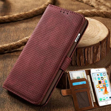 Luxury Business Filp Phone Case For Apple iPhone 6 6s Plus / 7 7Plus Card Slot Wallet Holster Leather Cellular Phone Funda Bag