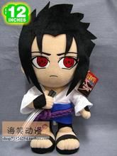 Movies & TV Naruto figure 30cm Uchiha Sasuke plush anime doll w1585(China)