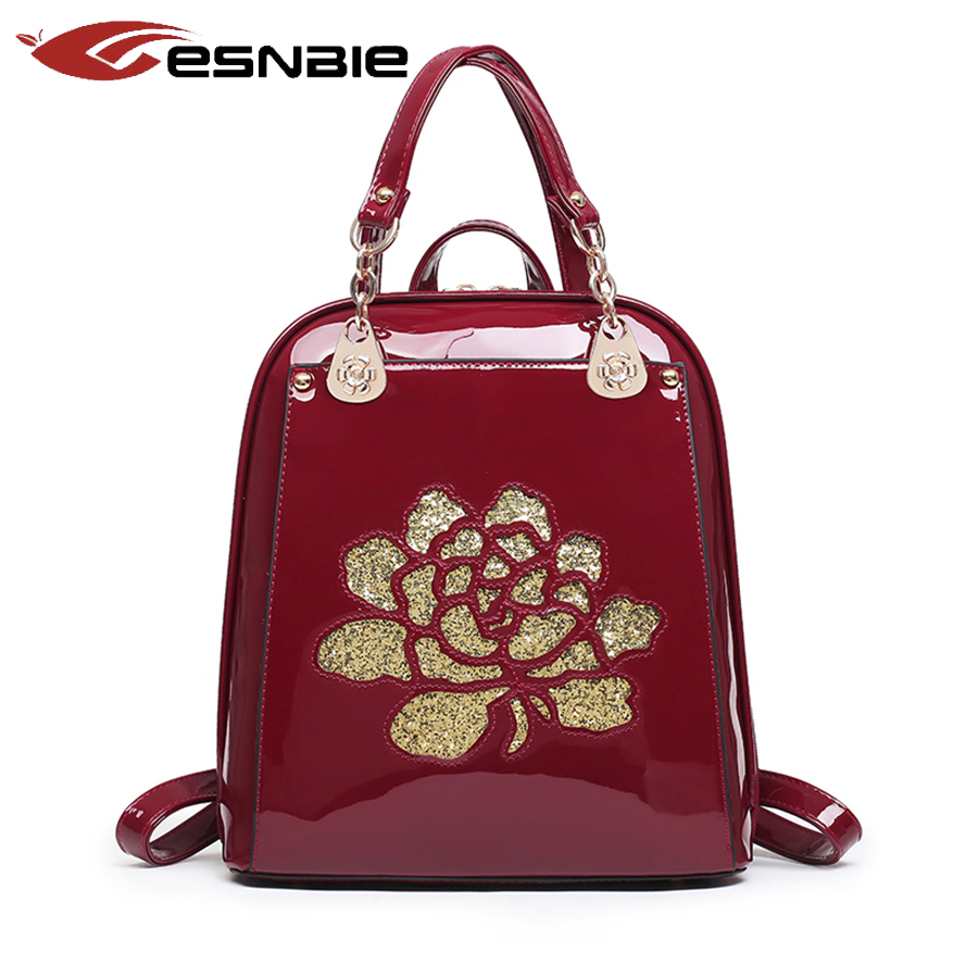 Chinese Style Women Backpack High Quality Youth Leather Backpacks for Teenage Girls Female School Shoulder Bag mochila<br><br>Aliexpress