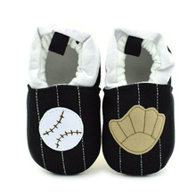 Baby baseball shoes soft outsole baby shoes toddler shoes 0-1 year old baby first walkers