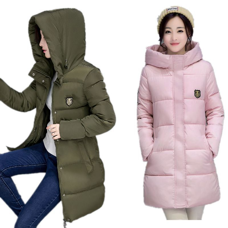 women jacket winter coat 2017 New Warm cotton hooded coat thicking winter long coat high quality  Ladies Coats Plus Size S-XXXLОдежда и ак�е��уары<br><br><br>Aliexpress