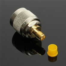 Socket Terminals L16 N Male To SMA Female Nickel Gold Plating Straight RF Coxial Connector Adapter Plug Jack