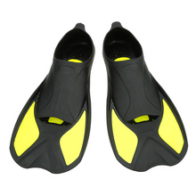 Swimming Fins High Quality Short Flipper Diving Flippers Silicone Portable Comfortable Diving Equipment Size XXS,XS,S,M,L,XL(China)