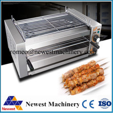Commercial electric bbq grill,220v/50hz barbecue bbq grilling machine on hotsale,stainless steel small home appliance bbq grill