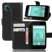 Luxury Phone Fundas Case For Wiko Sunny / Wiko B-Kool / Wiko B Kool 4.0'' Coque With Stand Flip Cover Wallet PU Leather Bag Skin