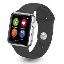 Smart watch iwo 1:1 сердечного ритма smartwatch iwo mtk2502c bluetooth mp3 плеер Часы W51 для Android iOS ПК A9 IWO1: 1 2 Поколения