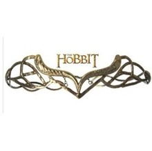 Wholesale jewelry ! vintage ELROND CROWN The HOBBIT Elf Elven Wreath Gold Tolkien Costume Accessory LOTR NEW