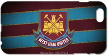 West Ham United Phone Case For iphone 4 4S 5 5S SE 5C 6 6S 7 Plus For iPod Touch 4 5 6 For Nokia Lumia 520 630 930 Cover