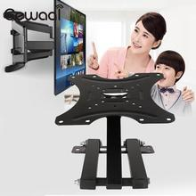 "Cewaal 2017 Hot New 14-42"" LCD LED HD TV Tilt Wall Mount Stand Holder Bracket TV Mounts Foldable Swivel Black(China)"
