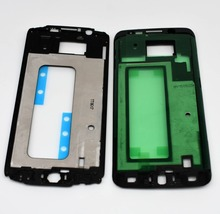 New Front Housing Middle Frame Bezel Plate Cover for Samsung Galaxy S6 G920 s6 edge G925 Replacement Repair Part