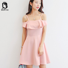Buy Elegant Womens New Fashion Sleeveless Dress Women Solid Color Girls Sweat Dresses Female Trendy Slim Females Korean Style Ladies for $8.68 in AliExpress store