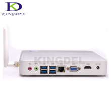 Low Power X86 Mini Computer Celeron 1037U 1007U Dual Core 1.8GHz 2*Lan Thin Client Mini Barebone PC Server