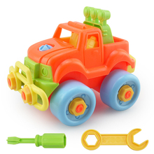 Car Disassembling DIY Small Particles Building Blocks Assemble Toy Assembled Model Building Kits Tool Early Educational