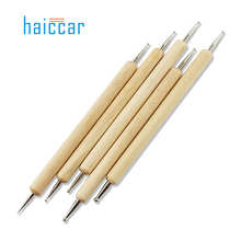 New 5pcs 2 Way Dotting Manicure Tools Painting Pen Nail Art Pen Nail Care Jul3 MG Drop SHipping