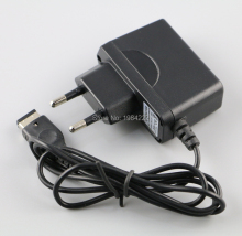 2pcs/lot  EU AC Home Wall Power Supply Charger Adapter Cable for Nintendo DS NDS GBA SP