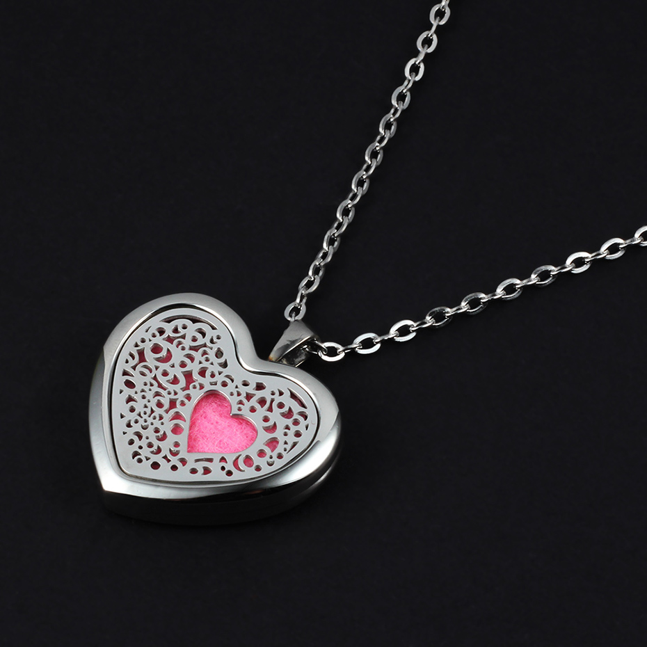 heart shaped diffuser necklace for women CV2102-1-20 (3)