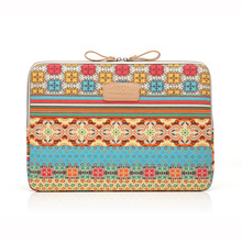 New Fashion Laptop Bag Bohemia Style Shockproof Waterproof Soft Linner Sleeve Notebook Case for Macbook 8/10/11/12/13/14/15 inch
