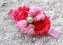 Free shipping 20pcs shabby chic headbands  headbands babyheadband  flower headband  accessory  headband
