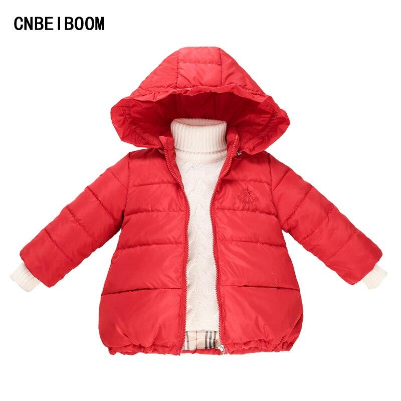 Winter Girls Down Hooded Jacket 2016 New Brand Childrens Coat Snowsuit 2-7 years Clothes Baby Warm Outerwear Girl Fashion DressÎäåæäà è àêñåññóàðû<br><br>