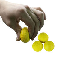 1 Pcs Hot Sale Golf Ball Exercise Stress Relief Squeeze Elastic Soft Foam Ball 5 Colors Wholesale(China)
