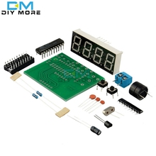 AT89C2051 Digital Led Display 4 Bits Electronic Clock Electronic Production Suite DIY Kit