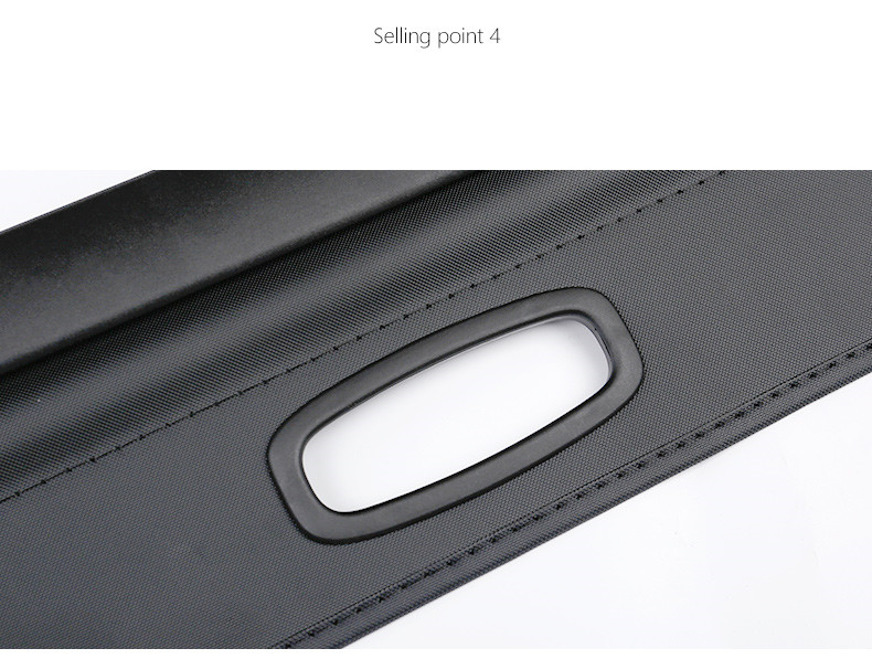 rear parcel shelf 2007-2016 FOR Mitsubishi Outlander  trunk cover material curtain rear curtain retractable spacer 13 (11)
