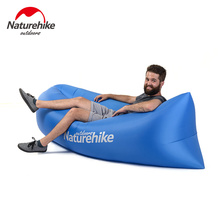 Brand Naturehike Outdoor Fast Inflatable Lazy Sleeping Sofa Bed Camping Sun Loungers Hiking Travel Hangout Beach Bag Swimming