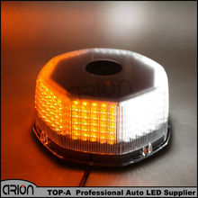 Amber/white 240 LED Car Vehicle Magnets Strobe Light Lamp Warning Beacon Emergency Flashing Lights Lamp 12V Magnetic base