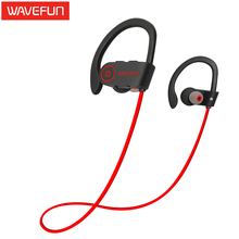 Wavefun X-Buds wireless bluetooth headphones IPX7 waterproof stereo with bass sports earphone with Mic earbuds for phone xiaomi