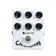 Joyo JF-15 California Sound Guitar Pedal with High-gain Lead Sound effect & 6 Knobs Free Shipping
