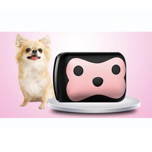Cartoon pets waterproof GPS anti-lost device, smart cat dog tracking device, free shipping(China)