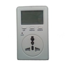 Digital Electricity Energy Meter Tester Monitor indicator Voltag Power watt Balance Energy saver Meter WF-D02A UK plug