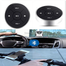 2pcs Wireless Bluetooth Media Remote button steering wheel remote control for car motorcycle bike handlebar remote control music