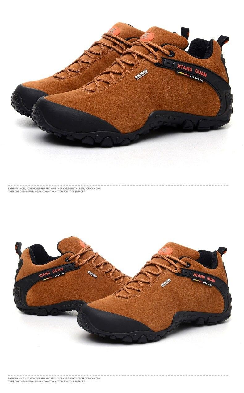 XIANG GUAN Winter Shoe Mens Sport Running Shoes Warm Outdoor Women Sneakers High Quality Zapatillas Waterproof Shoe81285 38