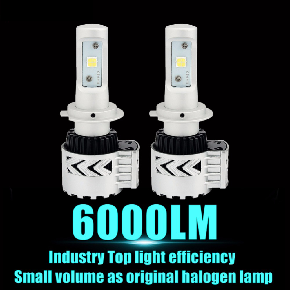 12000LM HB4 9006 Car LED Headlights Bulb 6500K White Light H4 H7 H8 H11 H10 H16 9004 9005 9012 H9 H13 LED Car Headlight<br><br>Aliexpress