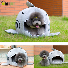 Pets Product Shark Dog House Warm Indoor Kitten Dog Cat Sofa Bed Puppy Pet House with Mat Small Larger Dog Bed Kennel For Pet