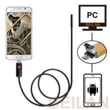 HD USB Endoscope Android Phone PC 1-10m Long Cable Waterproof Car Endoscope Camera Inspection Visual Copper Pipe Video Borescope