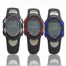 Men Women Sports GYM Running Hunting Digital Watch Fitness 3D Pedometer Calories Counter Pulse Heart Rate Monitor