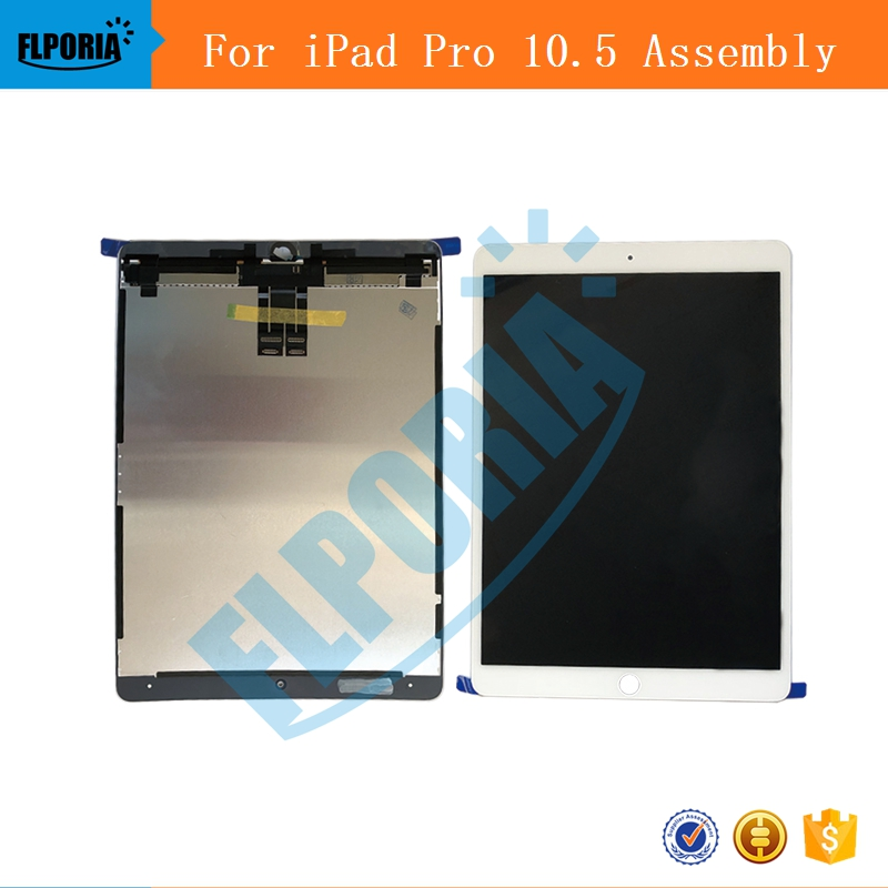 IPHT0219 New LCD Screen and Digitizer Assembly Part For iPad Pro 10.5-inch (2017) Black White(4b)